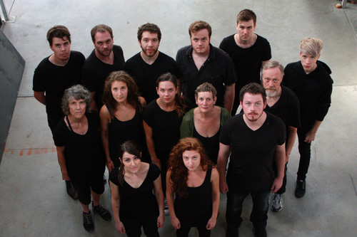 The cast of Foul Play's MacBeth