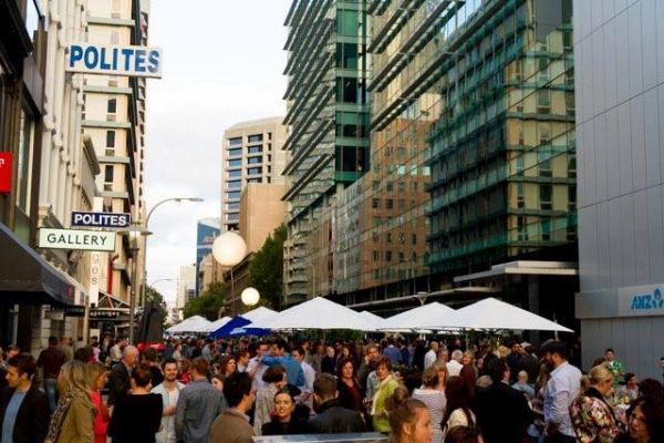 waymouth st party