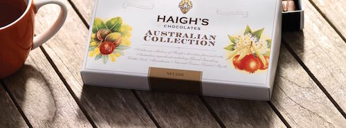 Haigh's are known for experimenting with chocolate and different flavours.