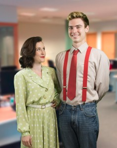 Kate Hodges (Susan) & Charlie Smith (Josh)