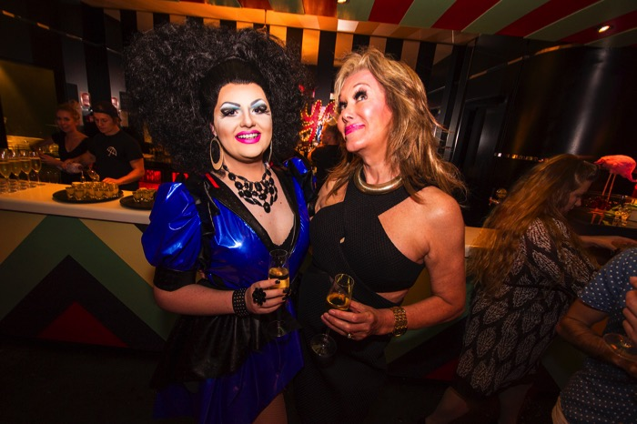 MARYS POPPIN VIP LAUNCH (L-R) - Luci Furr and Vonni Watkins - PIC CREDIT ERIC W BRUMFIELD