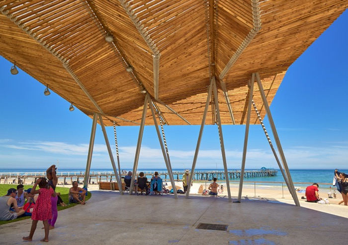 4 Structures at Henley Square by Troppo Architects and T.C.L, Photo Phillip Handforth