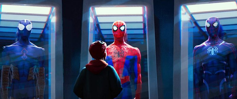 Still from Spiderman into the spider-verse